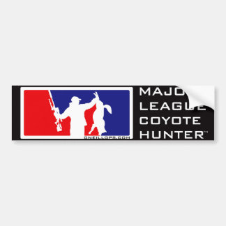 Major League Coyote Hunter™ Bumper Sticker