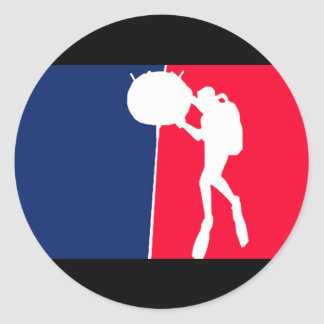 Major League EOD MCM 2 Classic Round Sticker