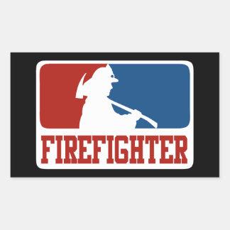 Major League Firefighter Sticker