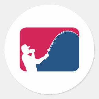 Major League Fishing Round Sticker