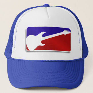 Major League Guitar Logo Rock Hero Hat