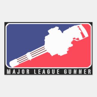 MAJOR LEAGUE GUNNER | MINIGUN STICKER