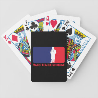 Major League Medicine Bicycle Playing Cards
