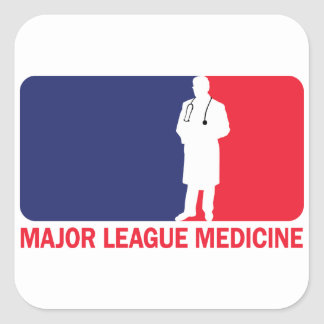 Major League Medicine Square Sticker