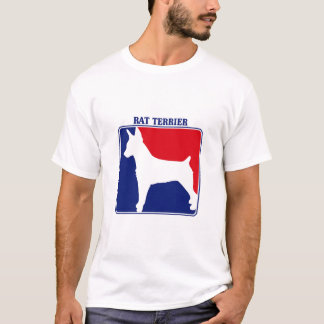 Major League Rat Terrier t-shirt