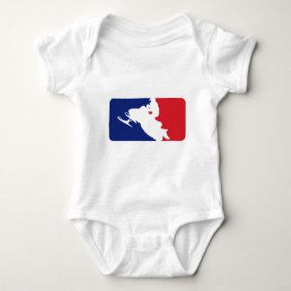 Major League Snowmobiler Baby Bodysuit