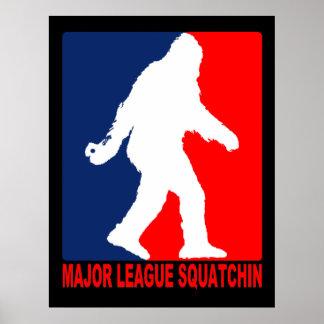 Major League Squatchin Poster