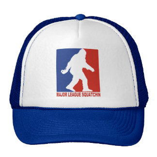 Major League Squatchin Sasquatch Mesh Trucker Hat