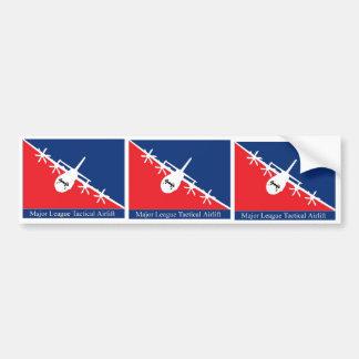 major league tac air bumper sticker