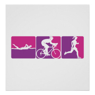Major League Triathlon Print