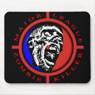 Major League Zombie Killer Mousepad