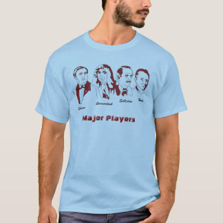 Major Players of the Cell Theory T-Shirt