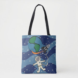 Major Tom Cat Tote Bag