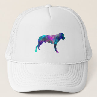 Majorca Shepherd Dog in watercolor Trucker Hat