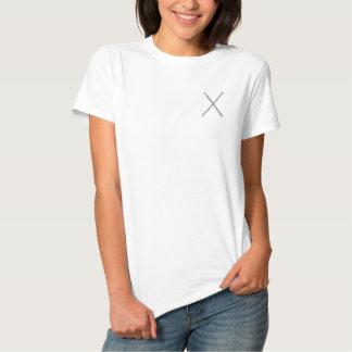 Majorette Batons Embroidered Shirt