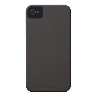 Majorly Handsome Black Color iPhone 4 Cases