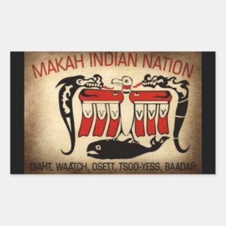 Makah Indian Nation Sticker