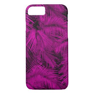 Makana Palms Hawaiian Pink Tropical Leaves iPhone 8/7 Case