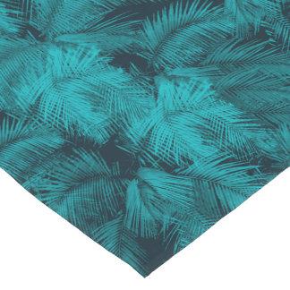 Makana Palms Hawaiian Tropical Print Short Table Runner