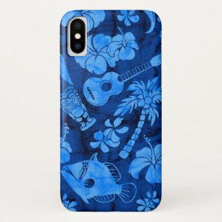 Makapuu Beach Hawaiian Batik iPhone X Case