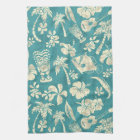 Makapuu Beach Hawaiian Batik Kitchen Towel