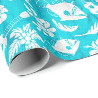 Makapuu Beach Hawaiian Batik Wrapping Paper