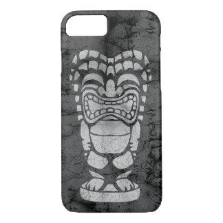 Makapuu Beach Hawaiian Laughing Tiki Batik iPhone 8/7 Case