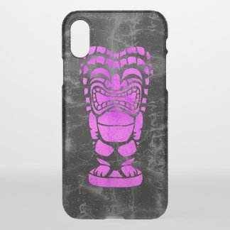 Makapuu Beach Hawaiian Laughing Tiki Batik iPhone X Case