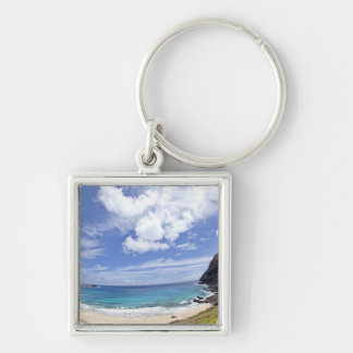 Makapuu Beach in Oahu, Hawaii. Keychain