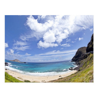 Makapuu Beach in Oahu, Hawaii. Postcard