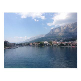 Makarska Harbour Postcard