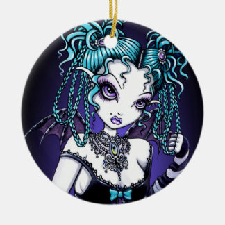 """""""Makayla"""" Gothic Couture Fairy Ornaments"""