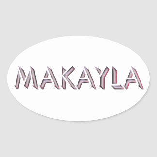 Makayla sticker