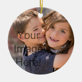 Make a Christmas Ornament - Add pics and text!