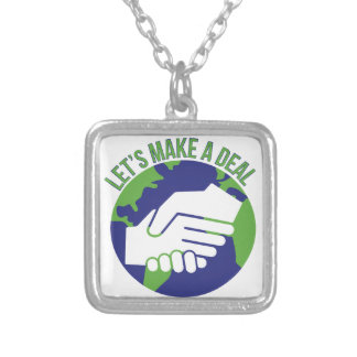 Make A Deal Silver Plated Necklace