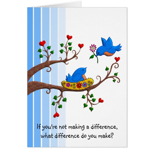 Make A Difference Card