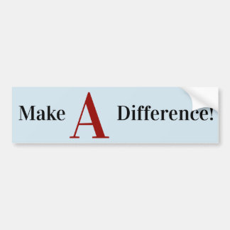Make A Difference sticker