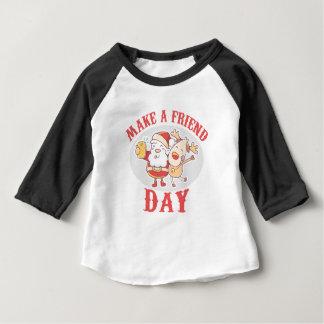 Make a Friend Day - Appreciation Day Baby T-Shirt