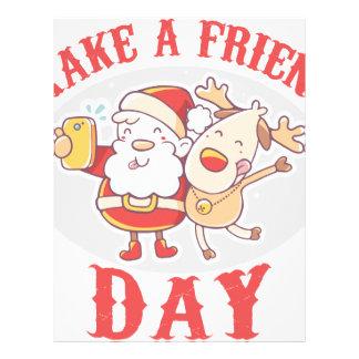 Make a Friend Day - Appreciation Day Letterhead