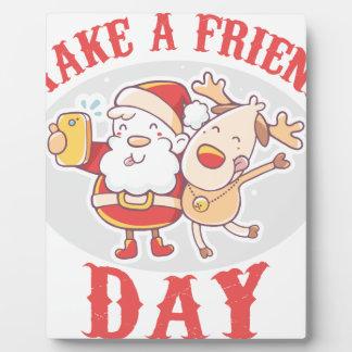 Make a Friend Day - Appreciation Day Plaque