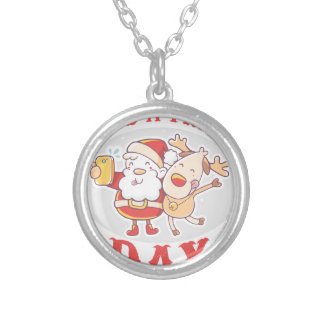 Make a Friend Day - Appreciation Day Silver Plated Necklace