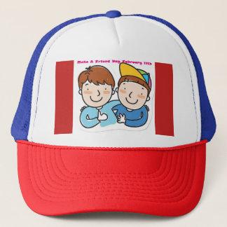 Make A Friend Day Hat