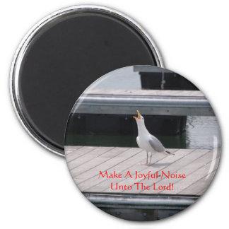 Make A Joyful Noise - magnet