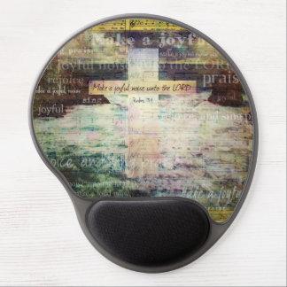 Make a joyful noise unto the LORD - Bible Verse Gel Mouse Pad