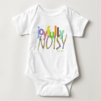 Make a joyful statement baby bodysuit