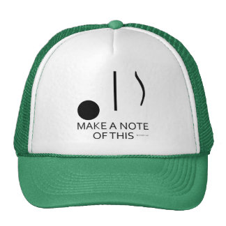 Make A Note Of This Trucker Hat