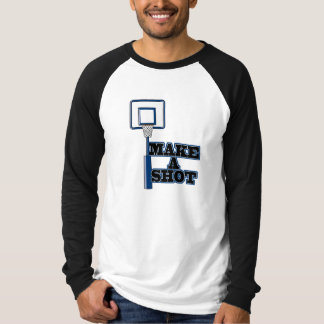 make a shot basetball net T-Shirt