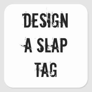 Make a Slap Tag Design Sticker Graffitti