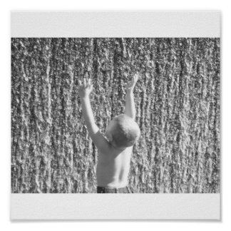 Make a Splash Baby Boy Poster