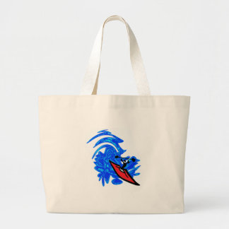 MAKE A SPLASH LARGE TOTE BAG
